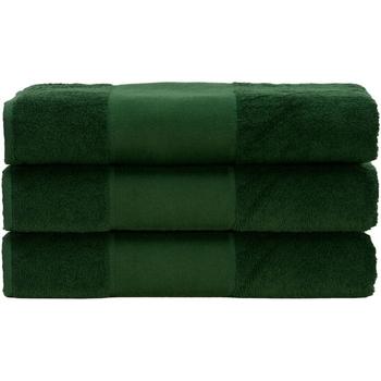 Koti Pyyhkeet ja pesukintaat A&r Towels 50 cm x 100 cm Dark Green