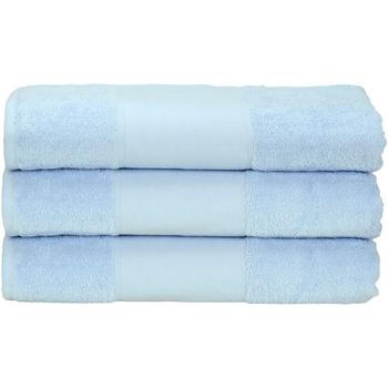 Koti Pyyhkeet ja pesukintaat A&r Towels 50 cm x 100 cm Light Blue