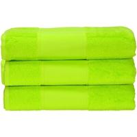 Koti Pyyhkeet ja pesukintaat A&r Towels 50 cm x 100 cm Lime Green