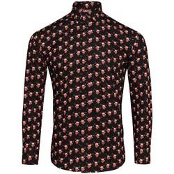 vaatteet Miehet Pitkähihainen paitapusero Christmas Shop CS001 Reindeer Black