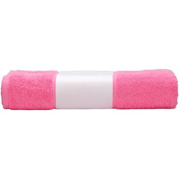 Koti Pyyhkeet ja pesukintaat A&r Towels 50 cm x 100 cm Pink