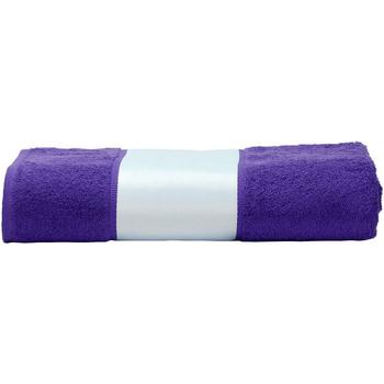 Koti Pyyhkeet ja pesukintaat A&r Towels 50 cm x 100 cm Purple