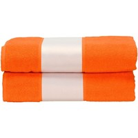 Koti Pyyhkeet ja pesukintaat A&r Towels Taille unique Bright Orange