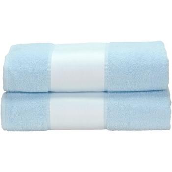 Koti Pyyhkeet ja pesukintaat A&r Towels Taille unique Light Blue
