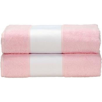 Koti Pyyhkeet ja pesukintaat A&r Towels Taille unique Light Pink