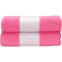 Koti Pyyhkeet ja pesukintaat A&r Towels Taille unique Pink