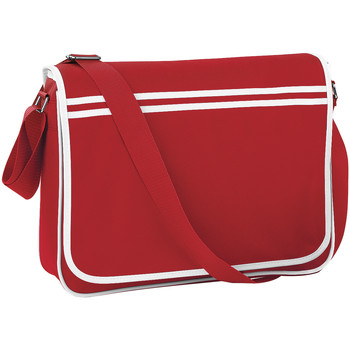 laukut Pojat Koululaukut Bagbase BG71 Classic Red/White