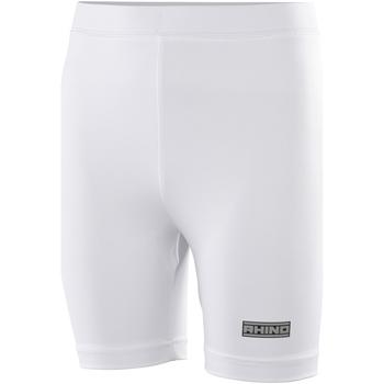 vaatteet Naiset Shortsit / Bermuda-shortsit Rhino RH10B White