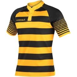 vaatteet Pojat Lyhythihainen t-paita Kooga K106B Black/Gold