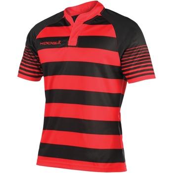 vaatteet Pojat Lyhythihainen t-paita Kooga K106B Black/Red