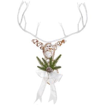 Koti Joulukoristeet Christmas Shop Taille Unique White