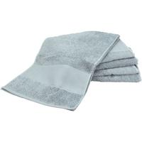 Koti Pyyhkeet ja pesukintaat A&r Towels Taille unique Anthracite Grey