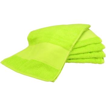 Koti Pyyhkeet ja pesukintaat A&r Towels Taille unique Lime Green