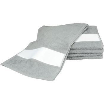 Koti Pyyhkeet ja pesukintaat A&r Towels 30 cm x 140 cm Anthracite Grey