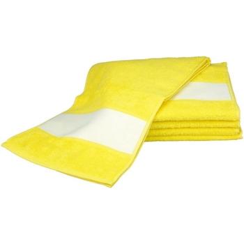 Koti Pyyhkeet ja pesukintaat A&r Towels 30 cm x 140 cm Bright Yellow