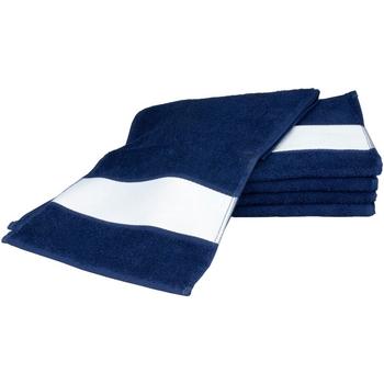 Koti Pyyhkeet ja pesukintaat A&r Towels 30 cm x 140 cm French Navy