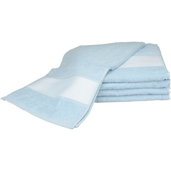 Koti Pyyhkeet ja pesukintaat A&r Towels 30 cm x 140 cm Light Blue