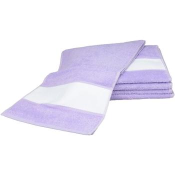 Koti Pyyhkeet ja pesukintaat A&r Towels 30 cm x 140 cm Light Purple