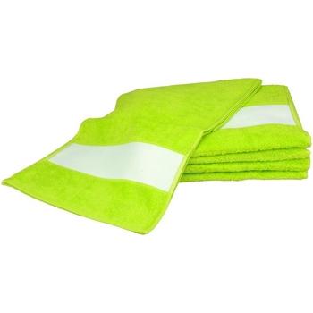 Koti Pyyhkeet ja pesukintaat A&r Towels 30 cm x 140 cm Lime Green