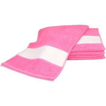 Koti Pyyhkeet ja pesukintaat A&r Towels 30 cm x 140 cm Pink