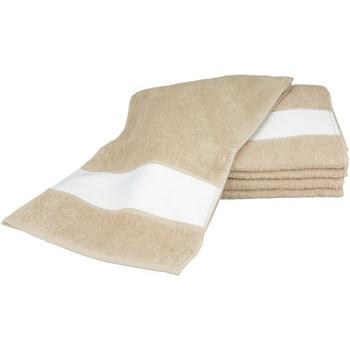 Koti Pyyhkeet ja pesukintaat A&r Towels 30 cm x 140 cm Sand