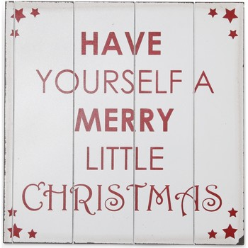 Koti Joulukoristeet Christmas Shop Taille unique (40 x 40 cm) White / Red