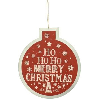 Koti Joulukoristeet Christmas Shop Taille unique Red Ho Ho Ho