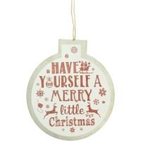 Koti Joulukoristeet Christmas Shop Taille unique White Merry