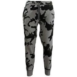 vaatteet Miehet Legginsit Nike Camouflage Jogginghose Mustat, Harmaat, Vihreät