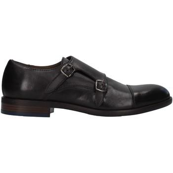 kengät Miehet Derby-kengät Re Blu' 7768 BLACK