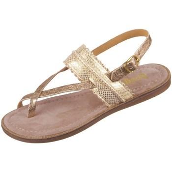 kengät Tytöt Sandaalit ja avokkaat Bisgaard 719321211128 Kullanväriset