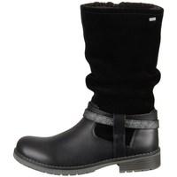 kengät Tytöt Saappaat Lurchi Lia Mustat