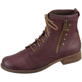 kengät Naiset Bootsit Josef Seibel Sienna 30 Tummanpunainen