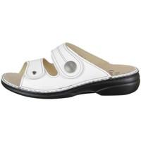 kengät Naiset Sandaalit Finn Comfort Sansibar Valkoiset