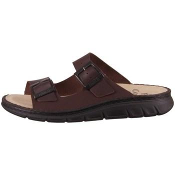 kengät Miehet Sandaalit Finn Comfort Cayman S Ruskeat