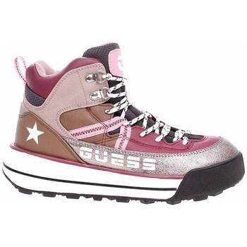 kengät Naiset Vaelluskengät Guess Ravele Hopeanväriset, Ruskeat, Vaaleanpunaiset