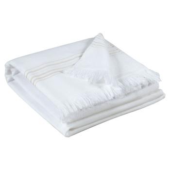 Koti Pyyhkeet ja pesukintaat Vivaraise CANCUN Valkoinen