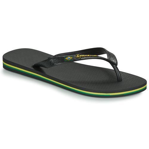 kengät Miehet Varvassandaalit Ipanema CLASSICA BRASIL II Black