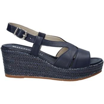 kengät Naiset Sandaalit ja avokkaat Valleverde 32211 Sininen