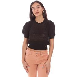 vaatteet Naiset Topit / Puserot Gaudi 111BD53020 Musta