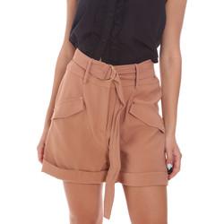 vaatteet Naiset Shortsit / Bermuda-shortsit Gaudi 111BD25033 Ruskea
