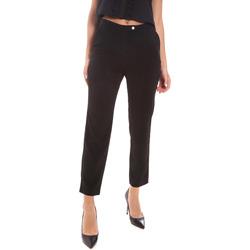 vaatteet Naiset Housut Gaudi 111BD25029 Musta