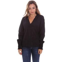 vaatteet Naiset Topit / Puserot Gaudi 111BD45024 Musta