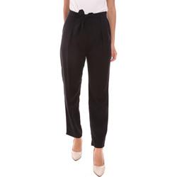 vaatteet Naiset Housut Gaudi 111BD25034 Musta
