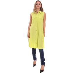 vaatteet Naiset Paitapusero / Kauluspaita Fracomina FR21ST1017W42801 Vihreä