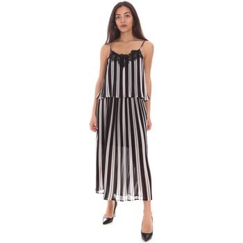 vaatteet Naiset Pitkä mekko Gaudi 111BD15007 Musta
