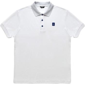 vaatteet Miehet Lyhythihainen poolopaita Refrigiwear RM0T19001PX9032 Valkoinen
