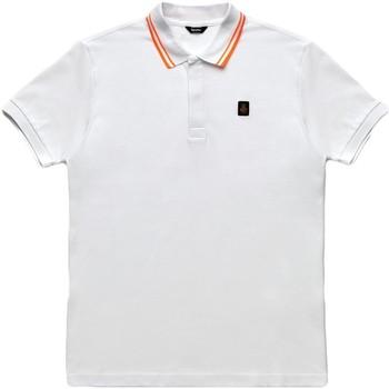vaatteet Miehet Lyhythihainen poolopaita Refrigiwear RM0T24000PX9032 Valkoinen