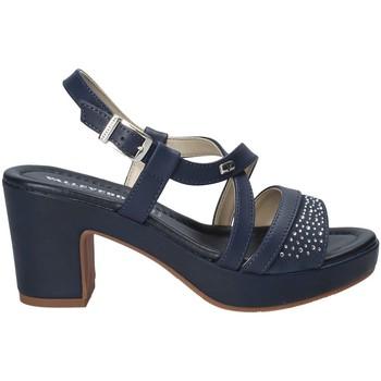 kengät Naiset Sandaalit ja avokkaat Valleverde 32501 Sininen