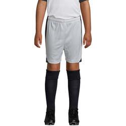 vaatteet Pojat Shortsit / Bermuda-shortsit Sols OLIMPICO KIDS pantalón corto Blanco